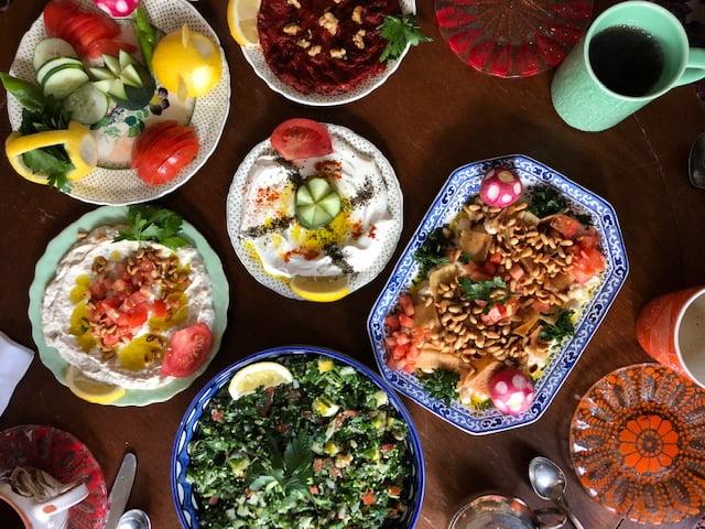 Delicious Aleppo Spread