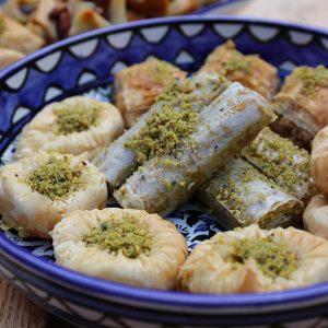 Aleppo Sweets Baklava Mixed Tray