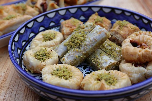 Aleppo Sweets Baklava Mixed Tray