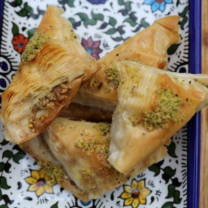 Aleppo Sweets Baklava Stuffed Whole Pistachio