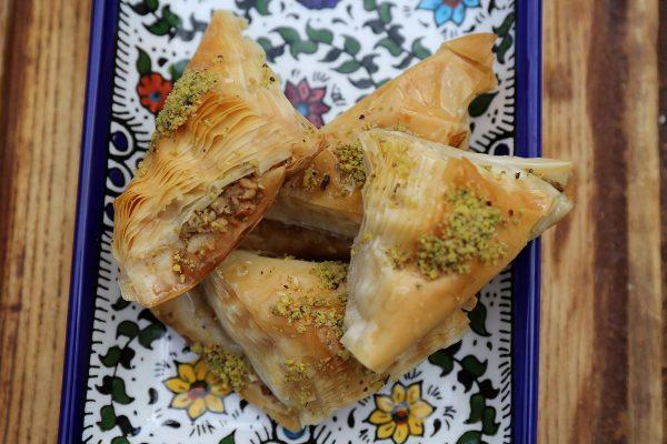Aleppo Sweets Baklava Stuffed Whole Pistachio