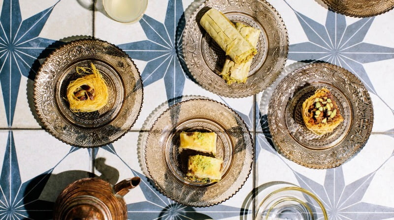 Baklava -bon appetit - photographer Elizabeth Cecil - Aleppo Sweets Top 50